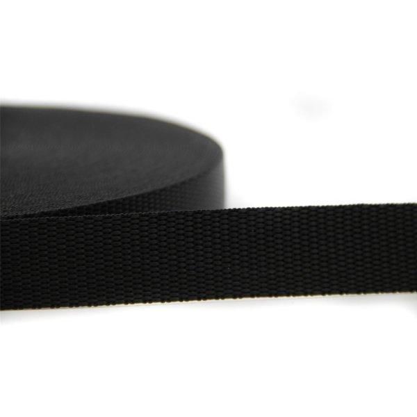 15mm   25m Gurtband   100 % Polypropylen