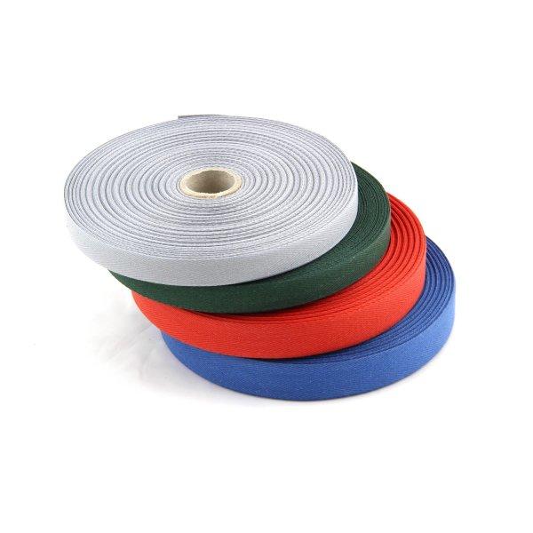 15mm | 50m Rolle Köperband | Nahtband | 78 % Baumwolle