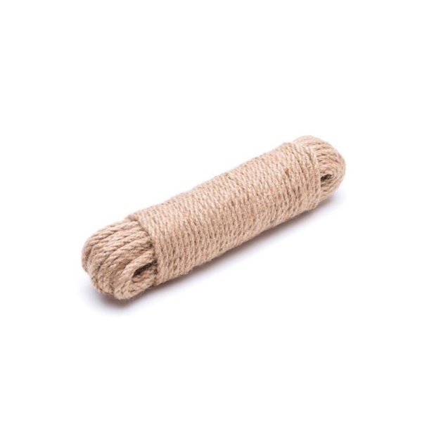 4mm   10m Juteseil   100 % Jute Seil   gedrehte Jutekordel