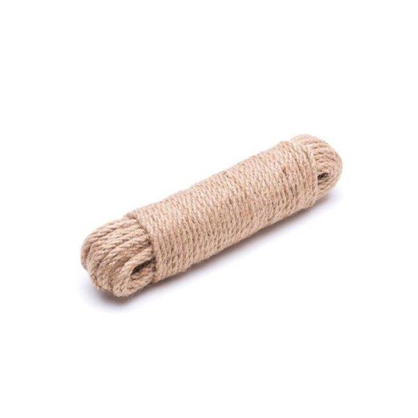 4mm | 20m Juteseil | 100 % Jute Seil | gedrehte Jutekordel
