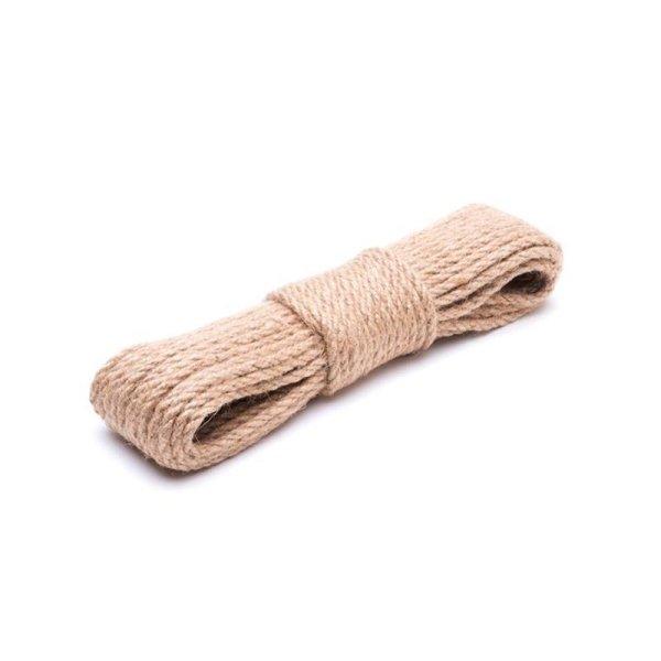 6mm | 10m Juteseil | 100 % Jute Seil | gedrehte Jutekordel