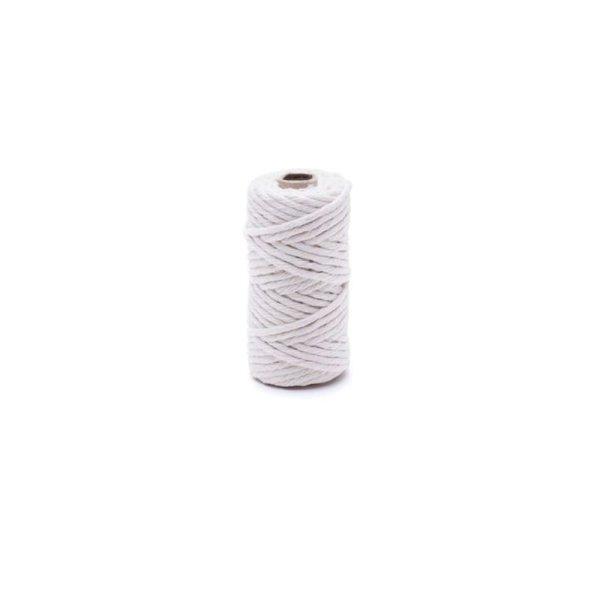 1,6mm | 20m Baumwollseil | 100 % Baumwolle Tauwerk | gedrehte Baumwollkordel