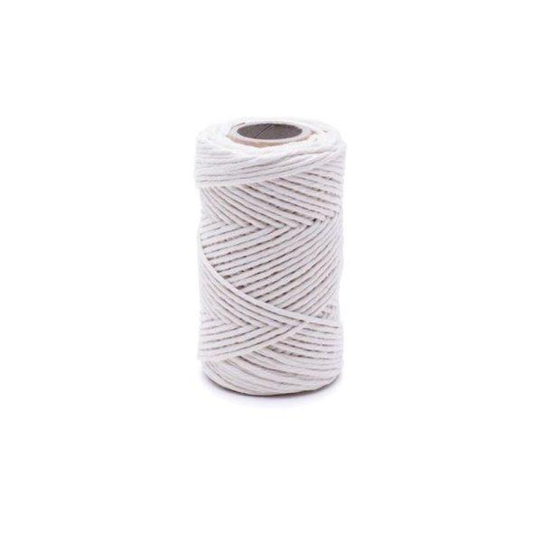 1,6mm | 70m Baumwollseil | 100 % Baumwolle Tauwerk | gedrehte Baumwollkordel