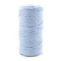 100m Makramee Garn | 100% Baumwolle | 3mm Single Twist |...