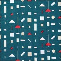 Rico Design   Stoffabschnitt   Druckstoff   Grafisches...
