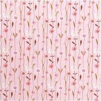 Rico Design   Stoffabschnitt   Druckstoff   Wildblumen...