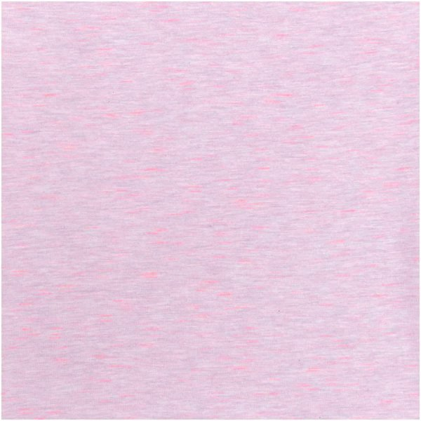 Rico Design   Stoffabschnitt   Jersey   Rosa-Neonpink   80x100cm