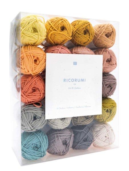Rico Design   Häkelgarn   Creative Ricorumi   Dk Set Limited 20 Farben 25g