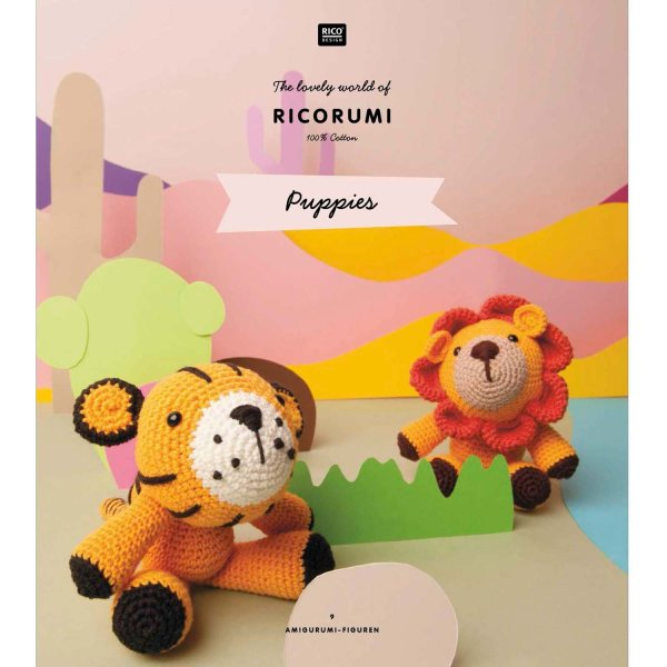 Rico Design   Anleitungsheft   Ricorumi   Puppies