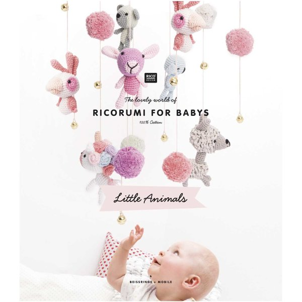 Rico Design   Anleitungsheft   Ricorumi   Baby Little Animals