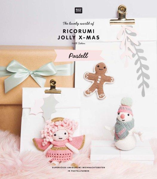 Rico Design   Anleitungsheft   Ricorumi   Jolly X-Mas Pastell