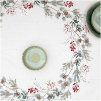Rico Design | Stickpackung Decke Weihnachtskranz, 90x90cm