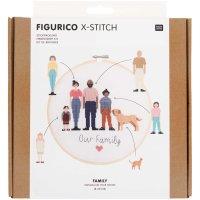 Rico Design   Stickpackung   Figurico   Family Ø...