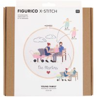Rico Design   Stickpackung   Figurico   Young Family...