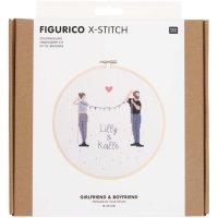 Rico Design   Stickpackung   Figurico   Girlfriend &...