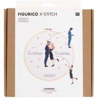 Rico Design   Stickpackung   Figurico   Lovebirds...