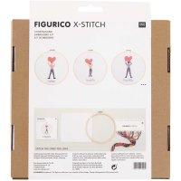 Rico Design   Stickpackung   Figurico   You Rock My World...