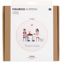 Rico Design   Stickpackung   Figurico   Teatime Ø...