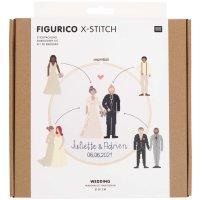 Rico Design   Stickpackung   Figurico   Wedding Ø...