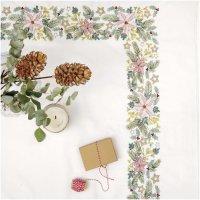 Rico Design | Stickpackung | Decke Weihnachtssterne 95x95 cm