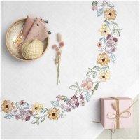 Rico Design | Stickpackung | Decke Sommerblütenkranz...