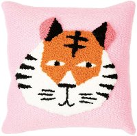 Rico Design   Punch Needle Packung   Kissen Tiger Inkl....