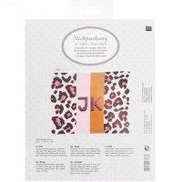 Rico Design | Stickpackung | Etui Acid Leo 17x22,5 cm