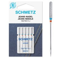 Schmetz   Jeans Nadeln   5er Packung 130/705H-J
