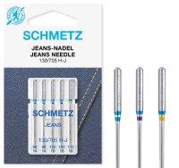 Schmetz   Jeans Nadeln   5er Packung 130/705H-J Nm 90-110...