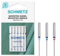 Schmetz   Microtex Nadeln   5er Packung 130/705H-M Nm...