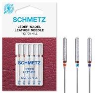 Schmetz   Leder Nadeln   5er Packung 130/705HLL Nm 80-100...