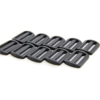 10 Leiterschnallen | Kunststoff Stegschnalle | 30 mm...