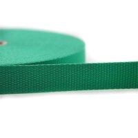 25m Gurtband | 100% Polypropylen | Grün 20 mm