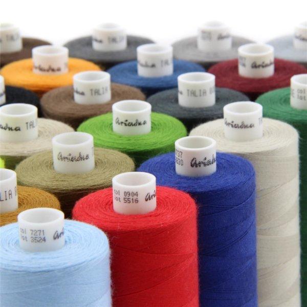 Nm.80   1000m Nähgarn   100 % Polyester   für mittelschwere Stoffe
