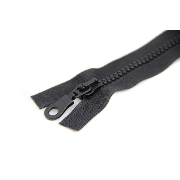1 Reißverschluss   5mm teilbare Kunstoff Krampe