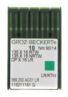 10er Pack Ledernadeln 135x16 RTW | Rundkolben und...